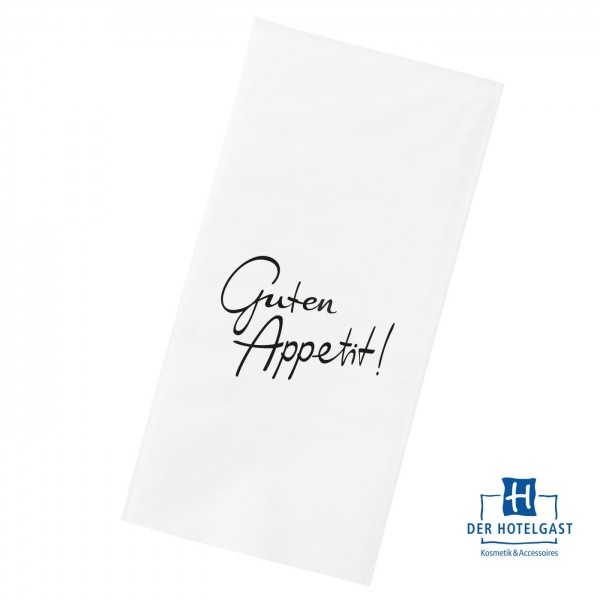 Hotel Serviette Motiv »Guten Appetit«