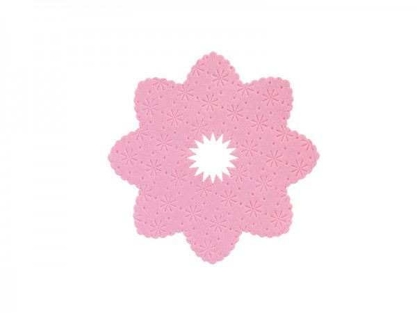 """Kerzentropfring """"rosa"""""""