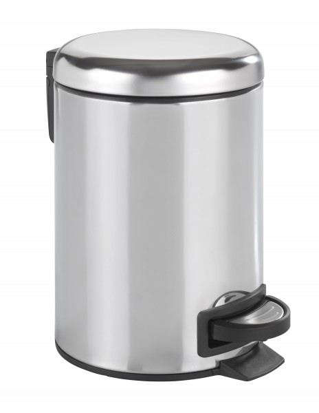 Müll Treteimer 3 L Edelstahl glänzend