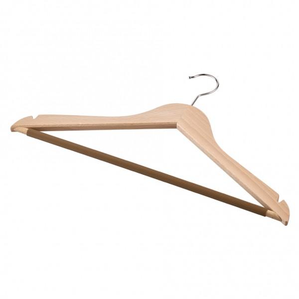 Kleiderbügel mit Riffelsteg und Kerbe