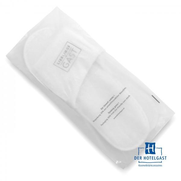 Hotel Slipper »LIEBLINGS♥GAST« in eco-friendly Beutel verpackt