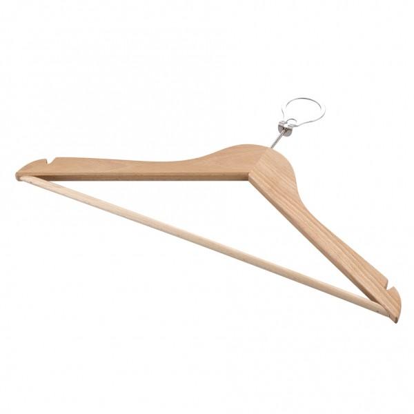Kleiderbügel mit Steeg und Kerbe