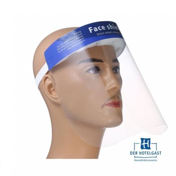 Gesichtschutz-Visier aus PET glasklar Vollvisier