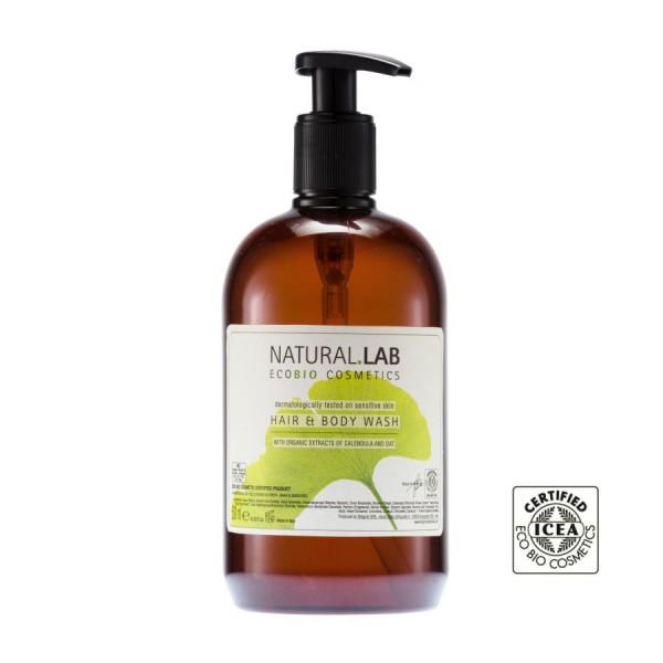 Hair & Body Shampoo 500ml »NATURAL.LAB«