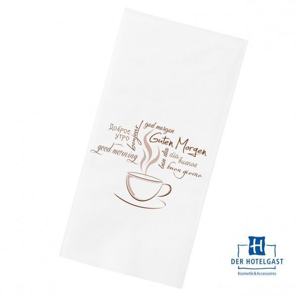 Hotel Serviette Motiv »Kaffeetasse«