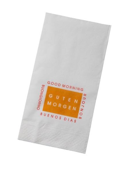 Hotel Serviette Motiv »Guten Morgen«