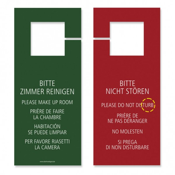 Türhängeschild »Rot Standard« ...zum halben Preis: 0,29 €