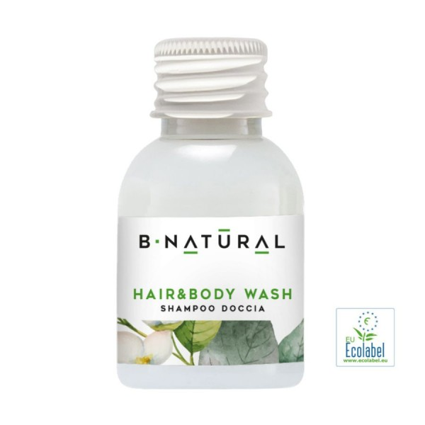 Hair & Body Shampoo 30 ml »B•NATURAL«