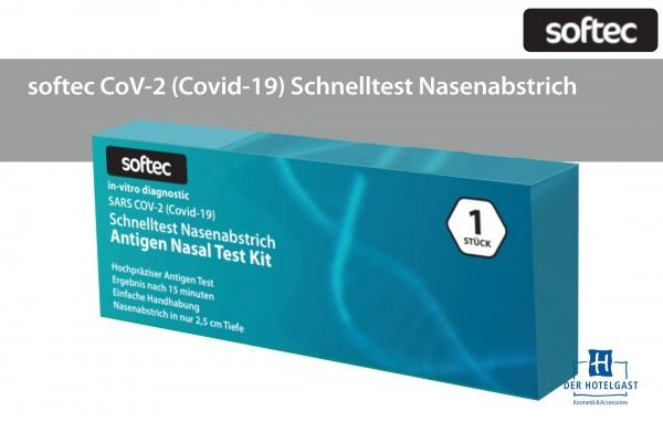 softec CoV-2 (Covid-19) Schnelltest Nasenabstrich